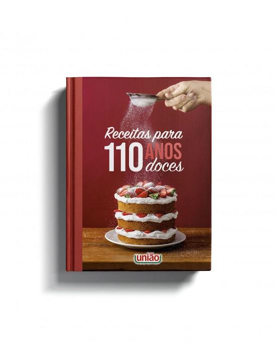 Livro Receitas para 110 Anos Doces
